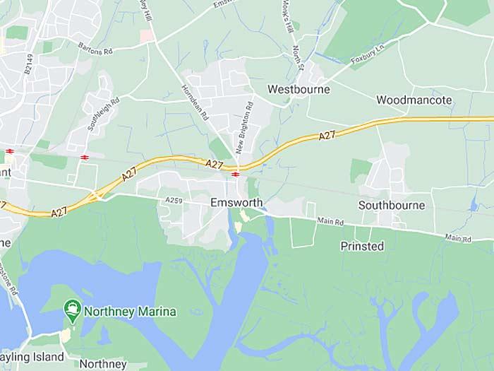 map of emsworth