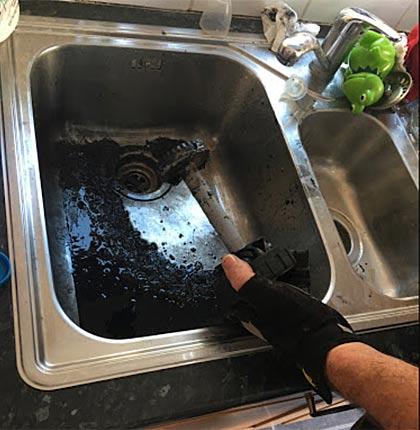 Sinks unblocked