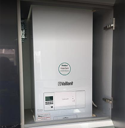 Vaillant boiler installed by Tyrone Guy